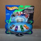 justice league hot wheels atomix DC tiny cars nib 2003 mattel