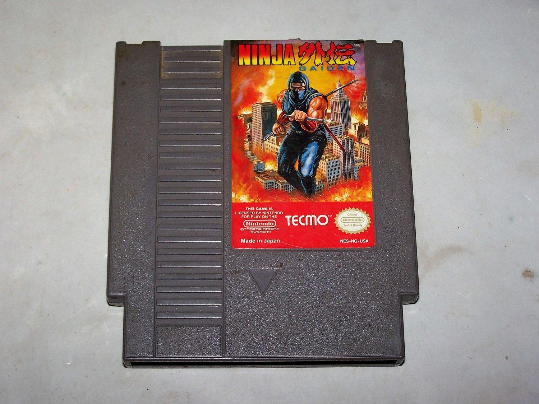ninja gaiden nes game cart 1985 tecmo