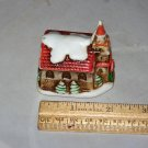 church lefton winter christmas church porcelain