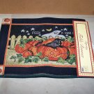 peek a boo tapestry table runner halloween