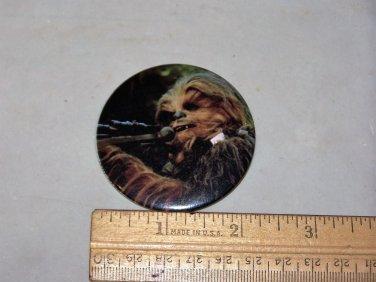 chewbacca star wars rotj button 1983 button
