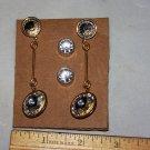 crystal earrings very cute lot