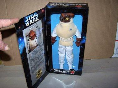 admiral ackbar 12 inch star wars figure nib 1997 hasbro