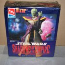 xizor star wars shadows of the empire model kit ertl 1997
