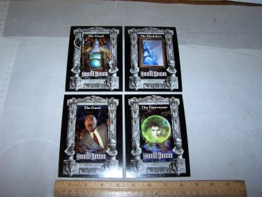 haunted mansion lobby post cards lot
