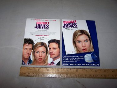 bridget jones the edge of reason lobby post cards 2 lot