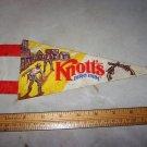 knott's berry farm pennant vintage
