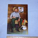knotts berry farm sad eye joe post card vintage