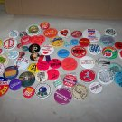 funny sayings button pin lot