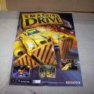 smashing drive airblade 2 sided poster 2002 postter