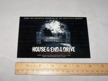 house at the end of the drive lobby post card