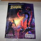 deathtrap dungeon fighting force 2 sided poster video game poster