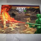 army men 3d poster 1998 video game poster