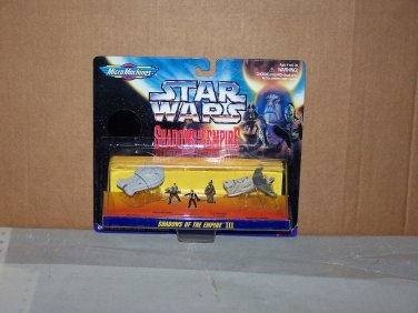 shadows of the empire 3 star wars micro machines NIP