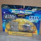 x ray fleet col 1 darths tie a wing star wars micro machines nip 1996 galoob