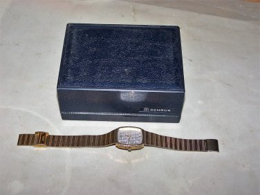 benrus watch and box