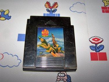 mig 29 soviet fighter nes game codemasters 1991 gold cart