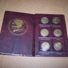 north american hunting club coin set