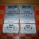 home inventory vic typing tutor commodore computers