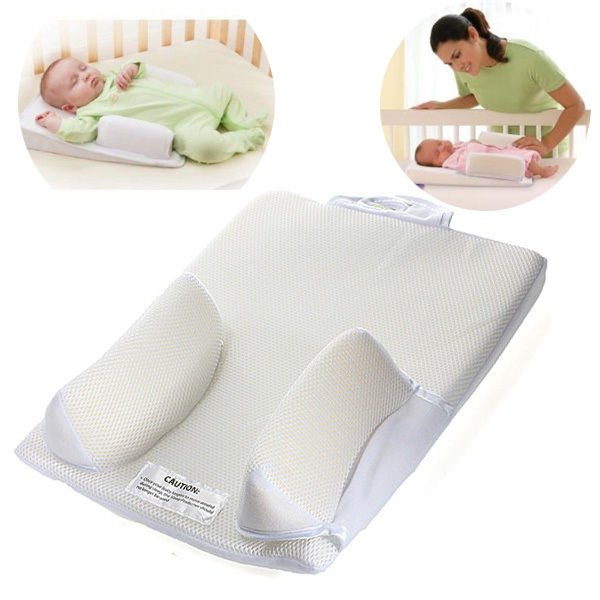 Baby Infant Pillow Sleep Fixed Positioner System Prevent Flat Head Ultimate Vent (YT5)