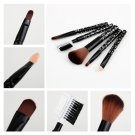5 PCS Set Cosmetic Makeup Brush Foundation  Comb New HC