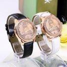 New Fashion Women Ladies Girls Crystal Eiffel Tower Quartz Wrist Watch HC