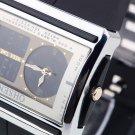 OHSEN Unisex Waterproof Digital LCD Alarm Date Mens Military  Rubber Watch HC