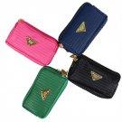 Womens Clutch Zipper Faux Leather Long Handbag Lady Wallet Coin Purse HC