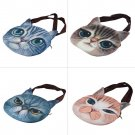 New Fashion Personalized Cat Face Print Personality Girls Large Shoulder Bag HC