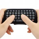 Wireless Controller Messenger Game Keyboard Keypad ChatPad For XBOX 360 Black HC