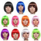 SEXY SHORT BOB CUT FANCY DRESS UP PARTY WIGS ROLE COSTUME LADIES FULL WIG HC