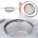 1pc Steel Kitchen Sewer Sink Strainer Filter Plug Barbed Wire Waste Clean HC