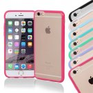 TPU Case Cover For Apple iPhone 6 Plus Hot Pink Matte Hard Silicone Bumper HC