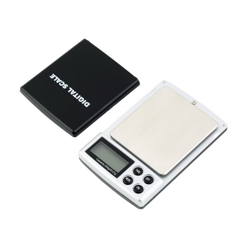 500g x 0.01g Digital Pocket Scale Jewelry Weight Balance Scale Precision HC