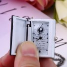 Vintage Unique Death Note Book Quartz Pocket Watch Pendant Necklace Gift HC