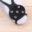 Ice Snow Ghat Non-Slip Spikes Shoes Boots Grippers Crampon Walk Cleats New HC
