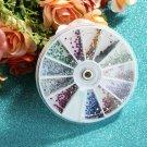 1.5mm 3600pcs Nail Art 3D DIY Rhinestones Decoration HC