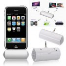 3.5mm Portable Monaural Speaker For iPhone 5s LG Nexus 5 S4 i9500 N9000 MP4 HC