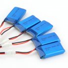 New 5x3.7V 380mAh Battery 2 to 5 Cable USB Charging Cable For Quadcopter HC