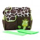 Carter Multi Function Baby Diaper Nappy Bag Giraffe Print Lovely Durable HC