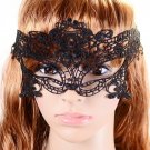 Halloween Masquerade Sexy Black Lace Mask hollow out Catwoman Batman veil HC