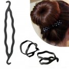 Women's Fashion Magic Hair Twist Styling Clip Stick Bun Maker Braid Tool HC