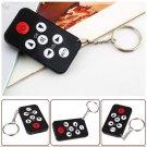 Mini Universal Infrared IR TV Set Remote Control Keychain Key Ring 7 Keys HC