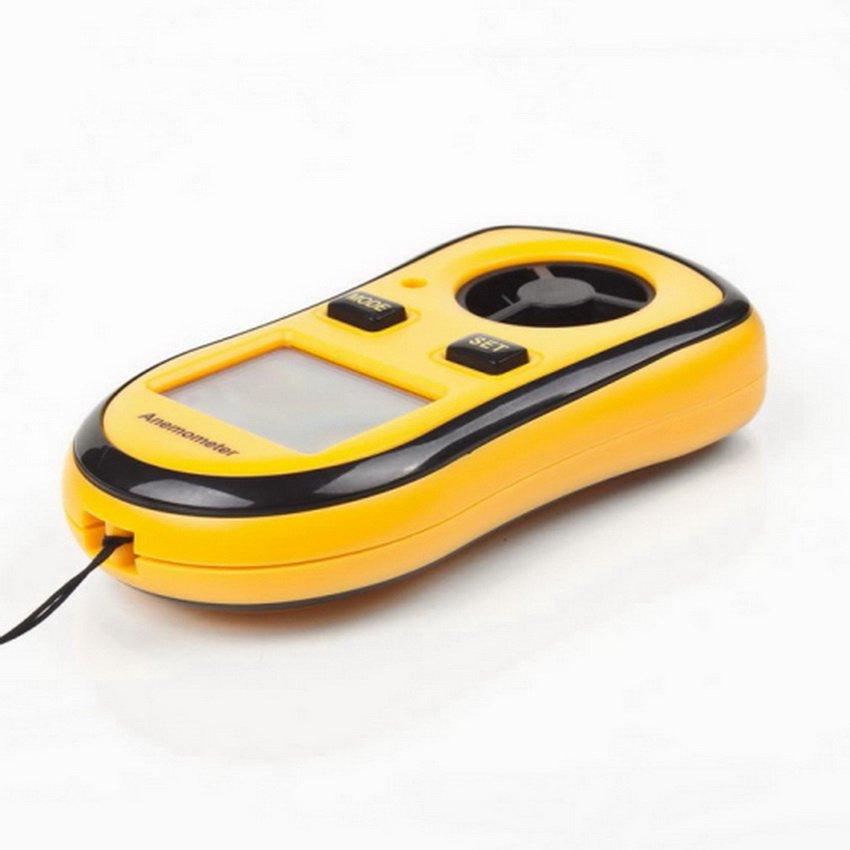 Digital Wind Speed Measurement Gauge Meter Sport Anemometer NTC Thermometer HC