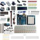 UNO R3 Starter Kit 1602 LCD Servo Matrix Breadboard LED Resistor for Arduino HC
