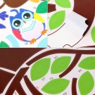 Cute Monkey Owl Animals Zoo Removable Kids Wall Sticker Decal Nursery Decor HC