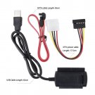SATA/PATA/IDE Drive to USB 2.0 Adapter Converter Cable for 2.5/3.5 Hard Drive HC