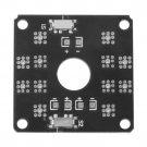 CC3D Quadcopter Flight Controller LED Control Power Distribution Board HC