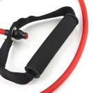 Professional Heavy Resistance Workout Band Stretch Fitness Tube Yoga Red New HC