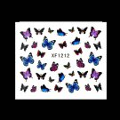Pretty Butterfly Nail Art Nail Decals Water Transfer Stickers Decoration HC